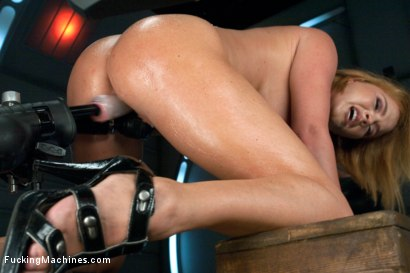 Photo number 5 from Round,Perfect Ass, Sexy Full tits & Long Orgasms from Machine Pounding shot for Fucking Machines on Kink.com. Featuring Krissy Lynn in hardcore BDSM & Fetish porn.