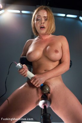 Photo number 14 from Round,Perfect Ass, Sexy Full tits & Long Orgasms from Machine Pounding shot for Fucking Machines on Kink.com. Featuring Krissy Lynn in hardcore BDSM & Fetish porn.
