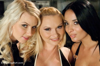 Photo number 15 from Beautiful Anal Sluts shot for Everything Butt on Kink.com. Featuring Katja Kassin, Anissa Kate and Anikka Albrite in hardcore BDSM & Fetish porn.
