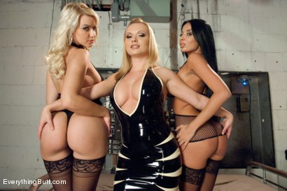 Photo number 1 from Beautiful Anal Sluts shot for Everything Butt on Kink.com. Featuring Katja Kassin, Anissa Kate and Anikka Albrite in hardcore BDSM & Fetish porn.