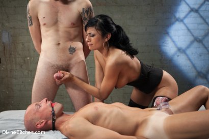 Photo number 10 from A Cuckold's Reality shot for Divine Bitches on Kink.com. Featuring Beretta James, Sean Spurt and Wolf Hudson in hardcore BDSM & Fetish porn.