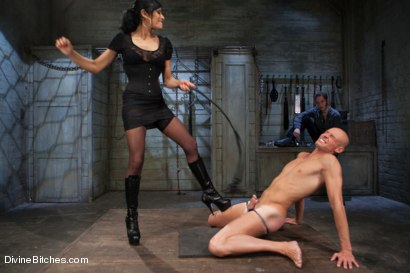Photo number 3 from A Cuckold's Reality shot for Divine Bitches on Kink.com. Featuring Beretta James, Sean Spurt and Wolf Hudson in hardcore BDSM & Fetish porn.