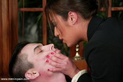 Photo number 2 from Vince and Jasmine Byrne shot for Men In Pain on Kink.com. Featuring Vince and Jasmine Byrne in hardcore BDSM & Fetish porn.