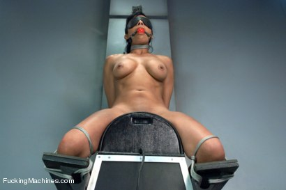 Photo number 2 from The Loaded Gun of Orgasms: Hot Girl Machine shagged in Bondage shot for Fucking Machines on Kink.com. Featuring Beretta James in hardcore BDSM & Fetish porn.