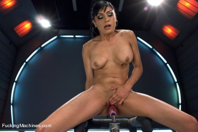 Photo number 11 from The Loaded Gun of Orgasms: Hot Girl Machine shagged in Bondage shot for Fucking Machines on Kink.com. Featuring Beretta James in hardcore BDSM & Fetish porn.