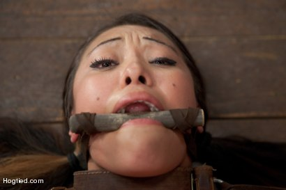 Photo number 8 from Asian Heart Breaker Jayden Lee Defiled shot for Hogtied on Kink.com. Featuring Jayden Lee in hardcore BDSM & Fetish porn.