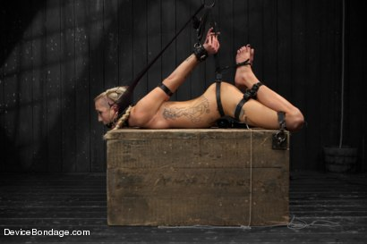 Photo number 14 from Maia Davis vs Jack Hammer shot for Device Bondage on Kink.com. Featuring Jack Hammer and Maia Davis in hardcore BDSM & Fetish porn.