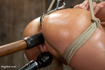 Photo number 9 from Katie Summers Tormented Cunt shot for Hogtied on Kink.com. Featuring Katie Summers in hardcore BDSM & Fetish porn.