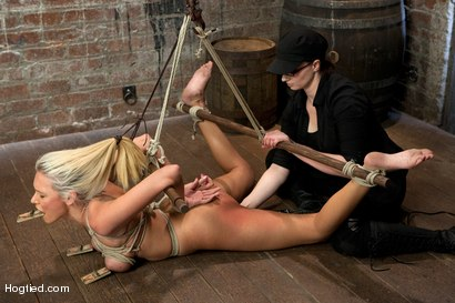 Photo number 12 from Katie Summers Tormented Cunt shot for Hogtied on Kink.com. Featuring Katie Summers in hardcore BDSM & Fetish porn.