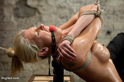 Photo number 3 from Katie Summers Tormented Cunt shot for Hogtied on Kink.com. Featuring Katie Summers in hardcore BDSM & Fetish porn.