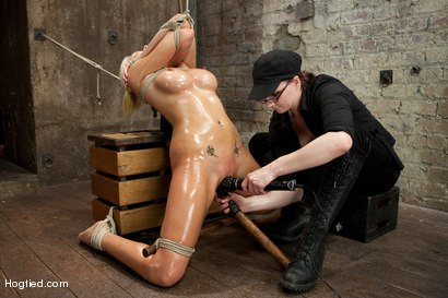 Photo number 4 from Katie Summers Tormented Cunt shot for Hogtied on Kink.com. Featuring Katie Summers in hardcore BDSM & Fetish porn.