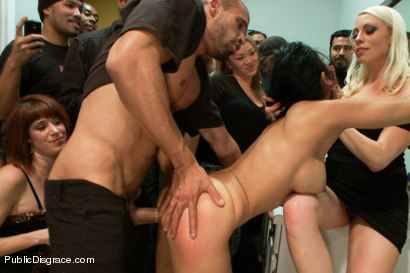 Photo number 9 from Party Girl shot for Public Disgrace on Kink.com. Featuring Beretta James and Karlo Karrera in hardcore BDSM & Fetish porn.