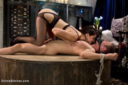 Photo number 13 from Danny Wylde gets his prostate milked by Bobbi Starr! shot for Divine Bitches on Kink.com. Featuring Danny Wylde and Bobbi Starr in hardcore BDSM & Fetish porn.