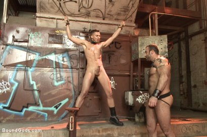 Photo number 11 from  Fleischfabrik Berlin - Part One with Spencer Reed shot for Bound Gods on Kink.com. Featuring Spencer Reed and Sam Barclay in hardcore BDSM & Fetish porn.