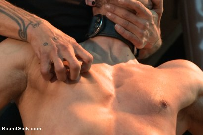 Photo number 2 from Fleischfabrik Berlin - Part Two with Logan McCree  shot for Bound Gods on Kink.com. Featuring Logan McCree and Sam Barclay in hardcore BDSM & Fetish porn.