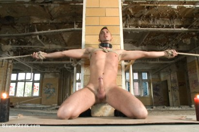 Photo number 8 from Fleischfabrik Berlin - Part Two with Logan McCree  shot for Bound Gods on Kink.com. Featuring Logan McCree and Sam Barclay in hardcore BDSM & Fetish porn.
