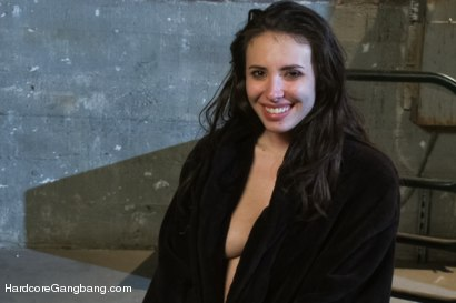 Photo number 15 from Casey Calvert Lives out her Gangbang Fantasy! First Gangbang,First Dp! shot for Hardcore Gangbang on Kink.com. Featuring Casey Calvert , John Strong, Mark Davis, Bill Bailey, Astral Dust and Alex Gonz in hardcore BDSM & Fetish porn.