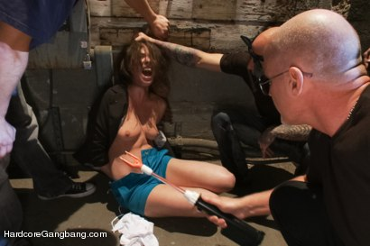 Photo number 3 from Casey Calvert Lives out her Gangbang Fantasy! First Gangbang,First Dp! shot for Hardcore Gangbang on Kink.com. Featuring Casey Calvert , John Strong, Mark Davis, Bill Bailey, Astral Dust and Alex Gonz in hardcore BDSM & Fetish porn.