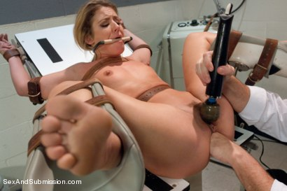 Photo number 7 from Love Sick Prisoner shot for Sex And Submission on Kink.com. Featuring Mark Davis and Sheena Shaw in hardcore BDSM & Fetish porn.