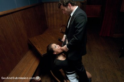 Photo number 3 from Illegal Immigrant Girl shot for Sex And Submission on Kink.com. Featuring James Deen and Vicki Chase in hardcore BDSM & Fetish porn.