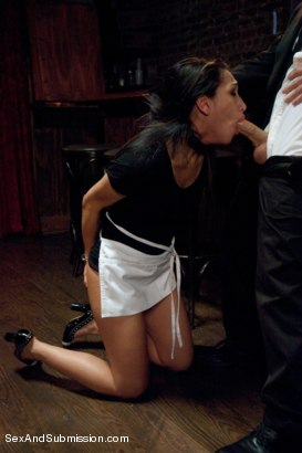Photo number 4 from Illegal Immigrant Girl shot for Sex And Submission on Kink.com. Featuring James Deen and Vicki Chase in hardcore BDSM & Fetish porn.