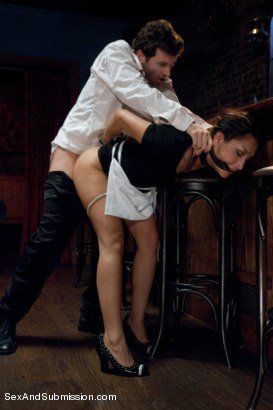 Photo number 5 from Illegal Immigrant Girl shot for Sex And Submission on Kink.com. Featuring James Deen and Vicki Chase in hardcore BDSM & Fetish porn.