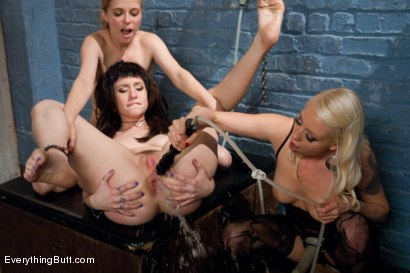 Photo number 9 from Enema Fucking Anal Sluts! shot for Everything Butt on Kink.com. Featuring Proxy Paige, Penny Pax and Lorelei Lee in hardcore BDSM & Fetish porn.
