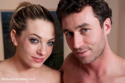 Photo number 15 from Birthday Girl: Dahlia Sky gets Destroyed! shot for Sex And Submission on Kink.com. Featuring James Deen and Dahlia Sky in hardcore BDSM & Fetish porn.