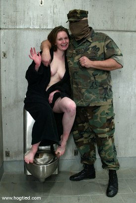 Photo number 15 from Sgt. Major and Lilly shot for Hogtied on Kink.com. Featuring Sgt. Major and Lilly in hardcore BDSM & Fetish porn.