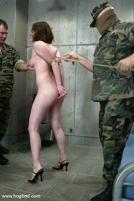 Photo number 5 from Sgt. Major and Lilly shot for Hogtied on Kink.com. Featuring Sgt. Major and Lilly in hardcore BDSM & Fetish porn.