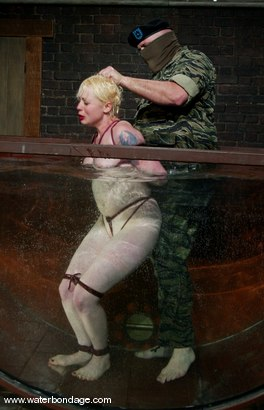 Photo number 14 from Sgt. Major and Lorelei Lee shot for Water Bondage on Kink.com. Featuring Sgt. Major and Lorelei Lee in hardcore BDSM & Fetish porn.