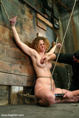 Photo number 12 from Sgt. Major and Lola shot for Hogtied on Kink.com. Featuring Sgt. Major and Lola in hardcore BDSM & Fetish porn.