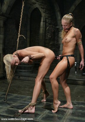Photo number 6 from Kylie Wilde and Cassie shot for Water Bondage on Kink.com. Featuring Kylie Wilde and Cassie in hardcore BDSM & Fetish porn.