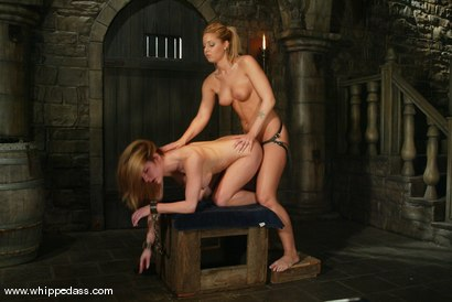 Photo number 12 from Hollie Stevens and Jenni Lee shot for Whipped Ass on Kink.com. Featuring Hollie Stevens and Jenni Lee in hardcore BDSM & Fetish porn.