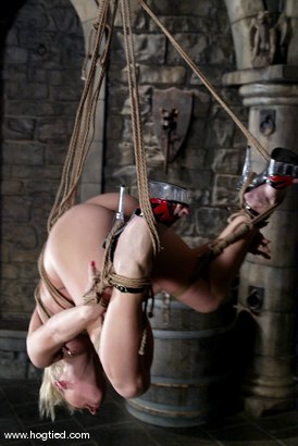 Photo number 13 from Lew Rubens and Livia Choice shot for Hogtied on Kink.com. Featuring Livia Choice and Lew Rubens in hardcore BDSM & Fetish porn.