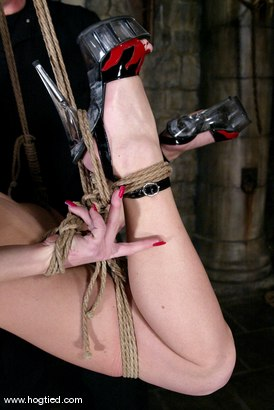 Photo number 15 from Lew Rubens and Livia Choice shot for Hogtied on Kink.com. Featuring Livia Choice and Lew Rubens in hardcore BDSM & Fetish porn.