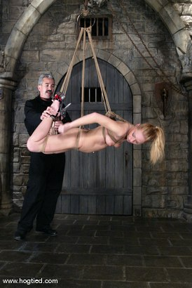 Photo number 5 from Lew Rubens and Livia Choice shot for Hogtied on Kink.com. Featuring Livia Choice and Lew Rubens in hardcore BDSM & Fetish porn.