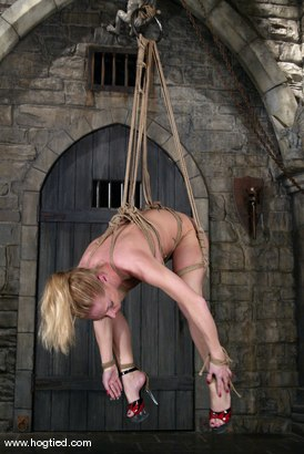 Photo number 10 from Lew Rubens and Livia Choice shot for Hogtied on Kink.com. Featuring Livia Choice and Lew Rubens in hardcore BDSM & Fetish porn.
