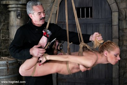 Photo number 7 from Lew Rubens and Livia Choice shot for Hogtied on Kink.com. Featuring Livia Choice and Lew Rubens in hardcore BDSM & Fetish porn.