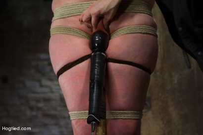 Photo number 8 from Charlotte Vale - Girl Next Door Overwhelmed with Orgasms shot for Hogtied on Kink.com. Featuring Charlotte Vale in hardcore BDSM & Fetish porn.