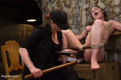 Photo number 13 from Charlotte Vale - Girl Next Door Overwhelmed with Orgasms shot for Hogtied on Kink.com. Featuring Charlotte Vale in hardcore BDSM & Fetish porn.