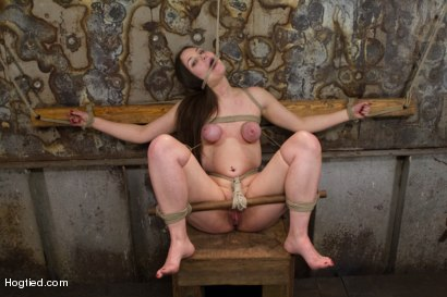 Photo number 15 from Charlotte Vale - Girl Next Door Overwhelmed with Orgasms shot for Hogtied on Kink.com. Featuring Charlotte Vale in hardcore BDSM & Fetish porn.