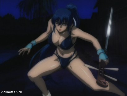Photo number 2 from The Last Kunoichi shot for Animated Kink on Kink.com. Featuring  in hardcore BDSM & Fetish porn.