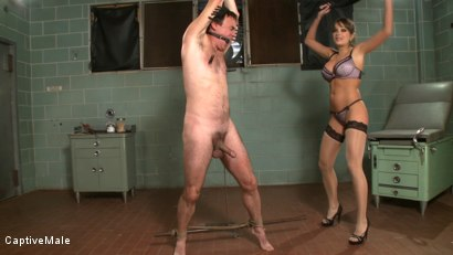 Photo number 4 from Bad Doctor! shot for Captive Male on Kink.com. Featuring Nika Noire and Wild Bill in hardcore BDSM & Fetish porn.