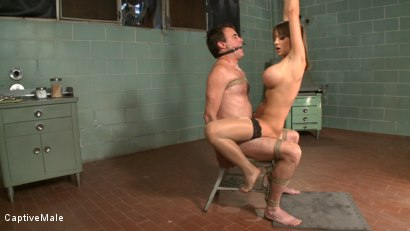 Photo number 7 from Bad Doctor! shot for Captive Male on Kink.com. Featuring Nika Noire and Wild Bill in hardcore BDSM & Fetish porn.