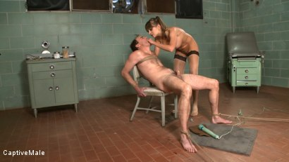 Photo number 15 from Bad Doctor! shot for Captive Male on Kink.com. Featuring Nika Noire and Wild Bill in hardcore BDSM & Fetish porn.