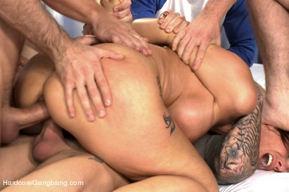 Photo number 5 from Hot MILF Teacher with Giant Tits Gangbanged by Students! Double Anal! shot for Hardcore Gangbang on Kink.com. Featuring Syren de Mer, James Deen, Dane Cross, Aaron Wilcoxxx, Astral Dust and Bill Bailey in hardcore BDSM & Fetish porn.