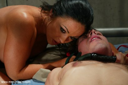 Photo number 9 from Cherokee and Sebastian shot for Men In Pain on Kink.com. Featuring Cherokee and Sebastian in hardcore BDSM & Fetish porn.