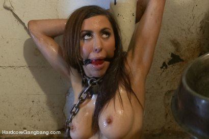 Photo number 3 from Princess Donna Gangbanged - Part 1 shot for Hardcore Gangbang on Kink.com. Featuring Princess Donna Dolore, James Deen, Ramon Nomar, Toni Ribas, Mr. Pete, Danny Wylde, John Strong and Erik Everhard in hardcore BDSM & Fetish porn.