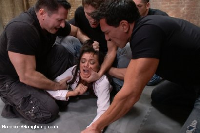 Photo number 5 from Cece Stone's Take Down Challenge shot for Hardcore Gangbang on Kink.com. Featuring Cece Stone, Mr. Pete, John Strong, Mark Davis, Marco Banderas and Alex Gonz in hardcore BDSM & Fetish porn.